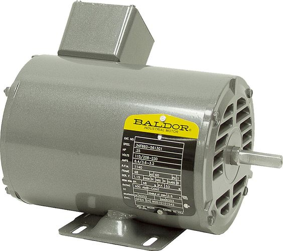 Baldor 1-Phase AC Motors